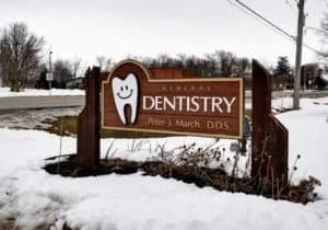 March Family Dental Care Exterior Sign