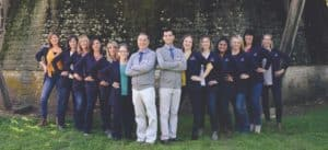 March Family Dental Care Team Photo